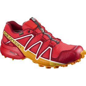 Salomon Speedcross 4 GTX Shoes Men Fiery Red/Red Dalhia/Bright Marigol
